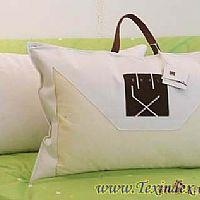 艾莱依家纺靠垫被-K031亮绿色产品图片展示