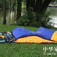 艾莱依家纺游戏部落睡袋产品图片展示