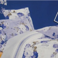 蓝鸽家纺蓝色妖姬产品图片展示