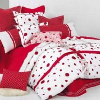 宝缦家纺红色丽人产品图片展示