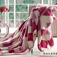 拉舍尔单层腈纶毯