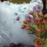 玖久丝绸家纺蚕丝抱枕产品图片展示