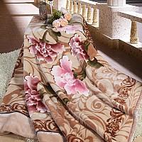 双层拉舍尔毛毯