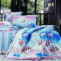 雨兰家纺粉彩罗绮产品图片展示