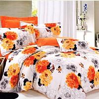 雨兰家纺橙忆花语产品图片展示