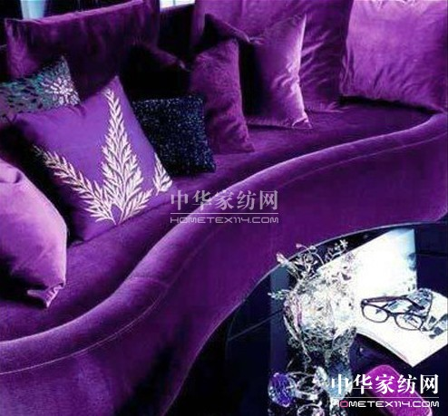公主房粉紫色房间装修图片