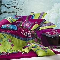 东方刺绣家纺满庭芳产品图片展示