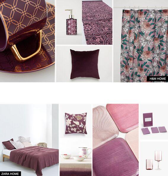 室内纺织品设计偏爱2019秋冬流行色――布朗红