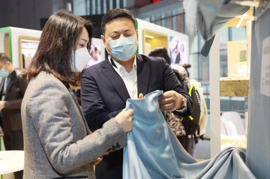 """零碳天丝™品牌纤维亮相,讲述家纺展上""""源自天然的舒适""""!"""