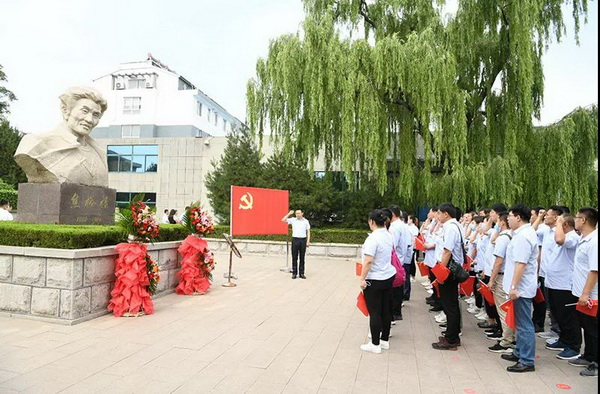 亚光党委组织二批党员、入党积极分子赴焦裕禄纪念馆参观学习